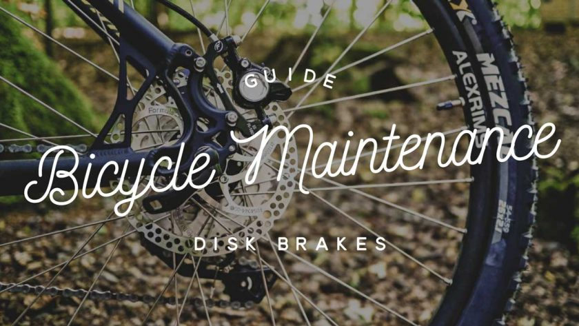 Bicycle Maintenance Disc Brakes