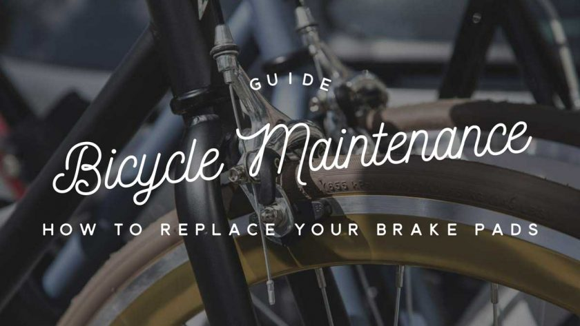 Bicycle Maintenance Rim Brakes