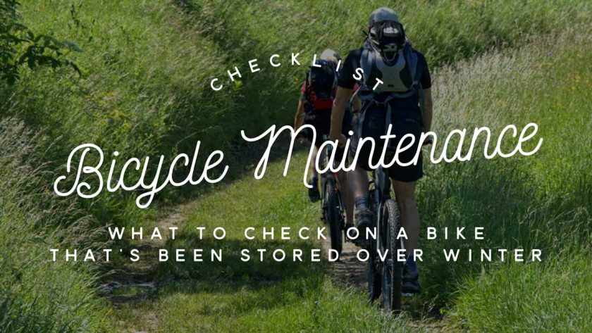 Bicycle Maintenance Spring Checks