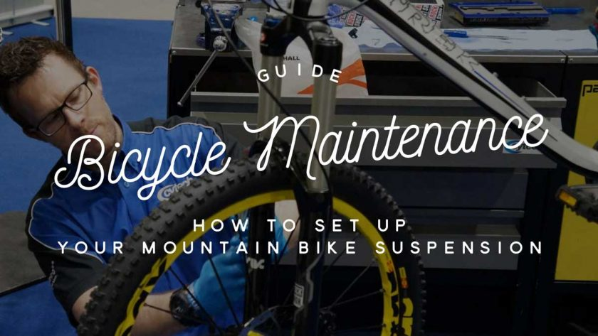 Bicycle Maintenance Suspension