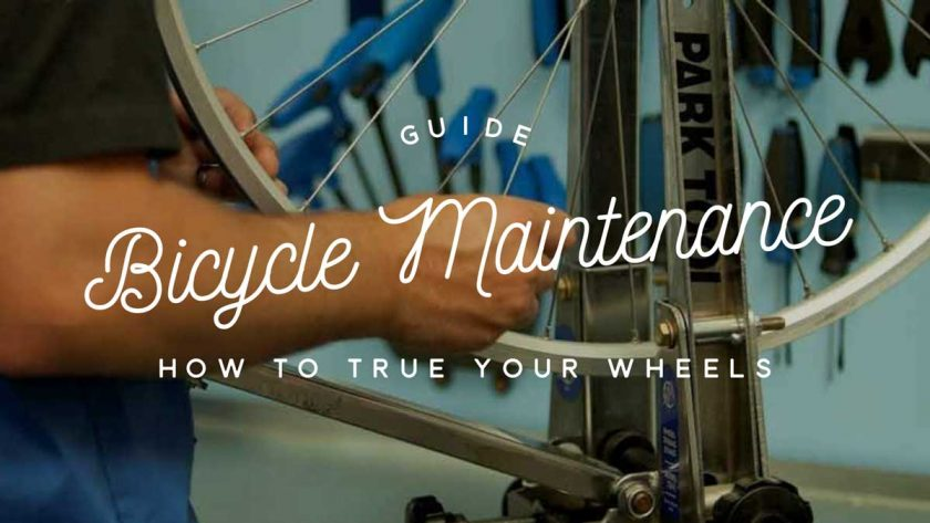 Bicycle Maintenance True Wheels